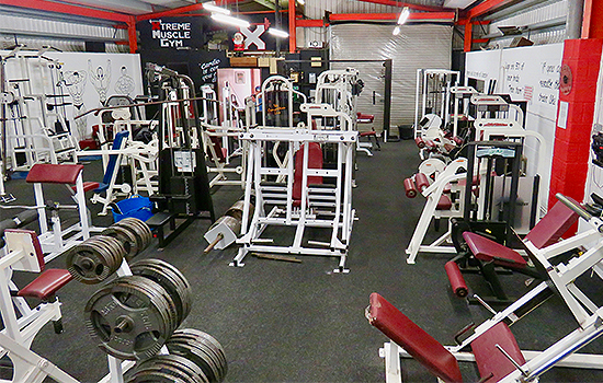 Xtreme muscle gym ipswich bodybuilding fitness supplements