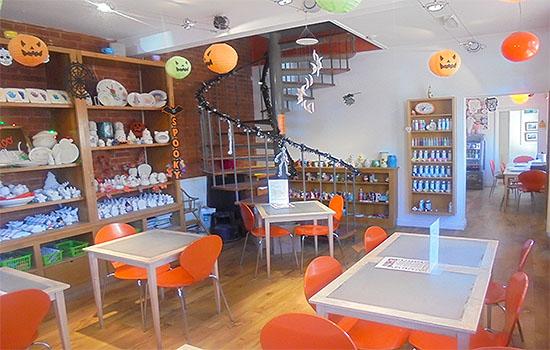 Pennikkity pots ceramics cafe Ipswich get creative